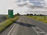 Elderly man rushed to hospital after crash on A17