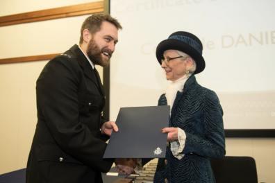 PC Daniel Brant. Photo: Steve Smailes for Lincolnshire Reporter