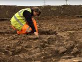 Archaeologists uncover quarry pits and cemetery on Grantham Southern Relief Road site