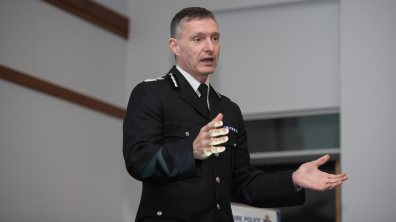 Lincolnshire Police Chief Constable Bill Skelly. Photo: Steve Smailes for Lincolnshire Reporter
