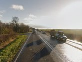 Man seriously injured after crash between car and lorry on A15