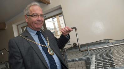 Councillor Andrew Hagues officially opened the new enclosure for the tigers. Photo: Steve Smailes for Lincolnshire Reporter