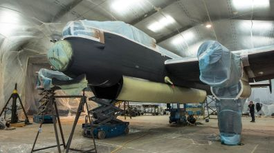 Just Jane after first layer of paint has been applied Photo: Steve Smailes