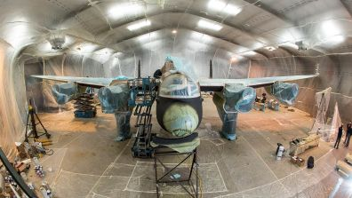 Just Jane being prepped for the second coat of paint Photo: Steve Smailes