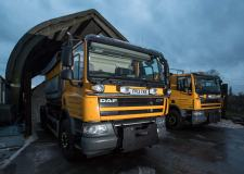 Council gritters 'not counting their chickens' despite mild winter