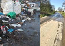 Fifty tonnes of fly-tipped waste cleared from Cleethorpes grot spot