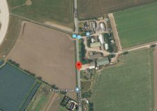 Coningsby road closed for 8 hours for overturned diesel tanker recovery