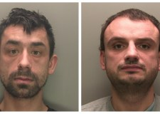 Two burglars leave trail of destruction after raids