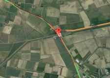 Delays after Swineshead Bridge crash