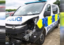 Police reveal damage after lorry crash