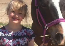 Child thanks ambulance crew after pony fall fractures jaw