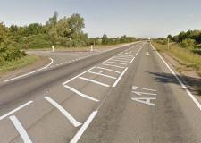 Woman dies after A17 crash