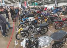 Classic motorbike show near Lincolnshire next month