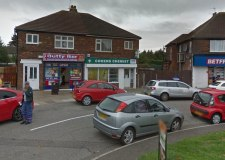 Robbers armed with gun raid chemist