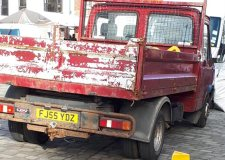 Council vehicle 'has no MOT', officials investigate
