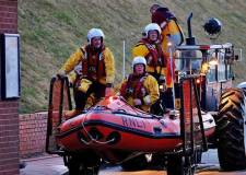 Woman and children rescued by Cleethorpes lifeboat crew