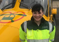 New paramedic joins air ambulance crew