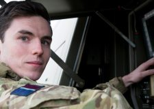 "RAF colleagues pay tribute to young crash victim's ""warm character"""