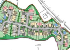 Final plans for 60 homes in Gainsborough village