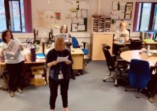 Mental health team makes feel good stay at home song