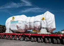 Giant Keadby 2 turbine arrives at its North Lincolnshire home