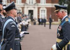 Prince Charles visits RAF Cranwell for graduation event