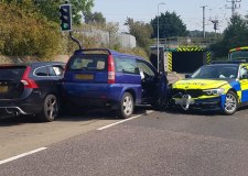 Police find driver of Grantham hit and run car theft