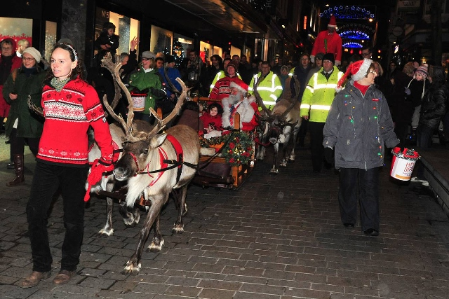Lincoln's reindeer parade returns