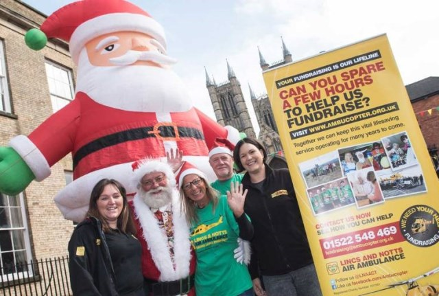 Santa spectaculars to raise cash for air ambulance charity