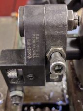 B&S 210 -120 Swing Knurl Tool