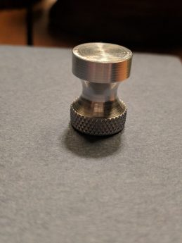 Updated Finial - WIth Profile and Knurling
