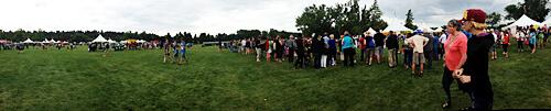 Heritage Festival 2013 at Hawrelak Park.