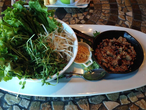 Char Sui Lettuce Wraps at Absolutely Edibles!