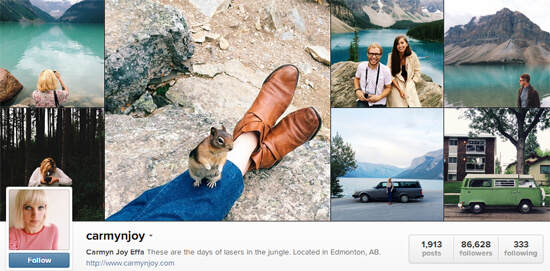 Edmonton Instagram - Carmyn Joy