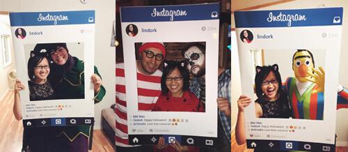 Instagram Halloween fun!