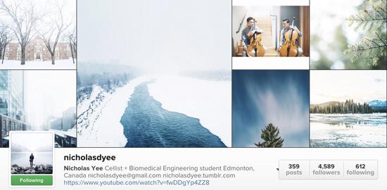 Edmonton Instagram Users - nicholasdyee