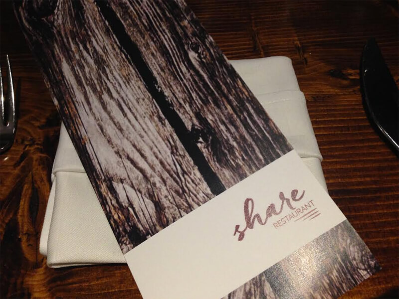 Recap: New Look, Menu, Chef's Table, at Westin Edmonton Hotel's Share Restaurant