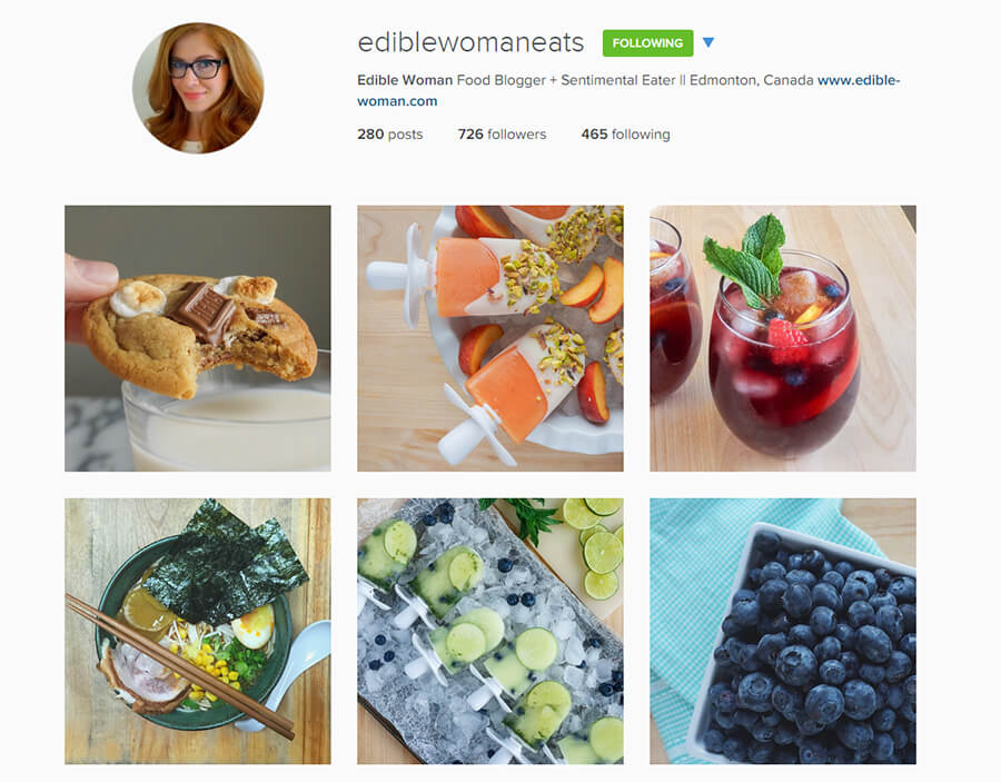 Edmonton Instagram Users - ediblewomaneats