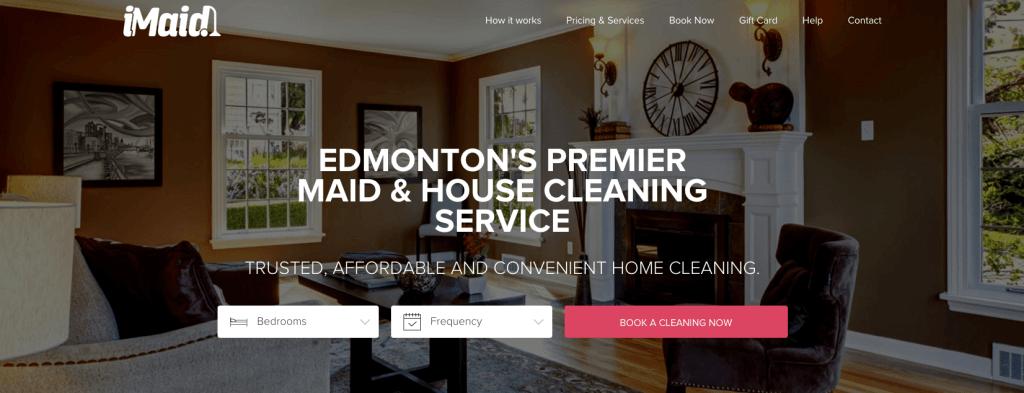iMaid Edmonton House Cleaning Service