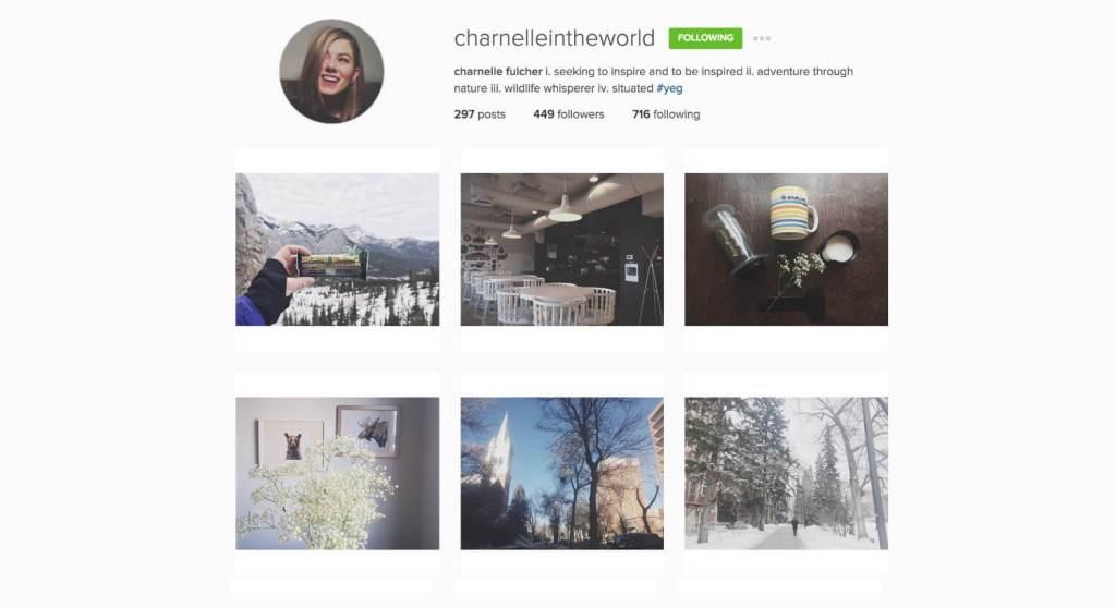 Top Edmonton Instagram Users - charnelleintheworld - Social Media