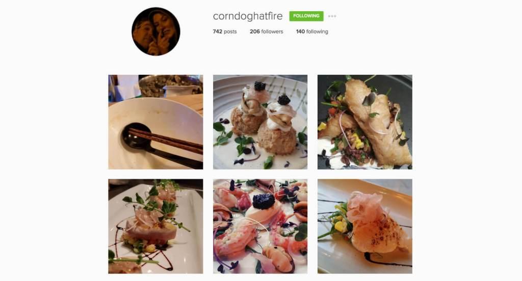 Top Edmonton Instagram Users - corndoghatfire - Social Media