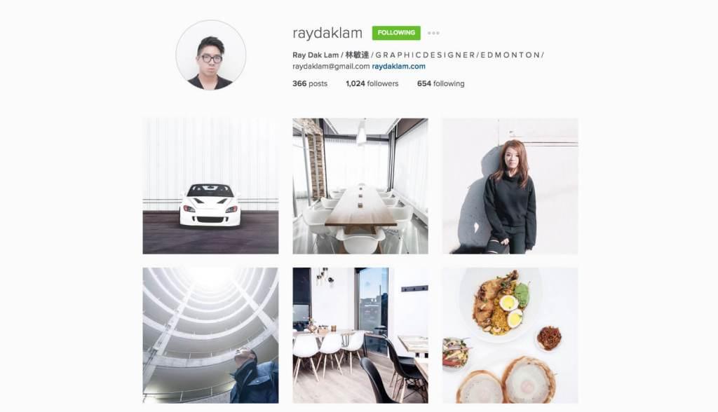 Top Edmonton Instagram Users - raydaklam - Social Media