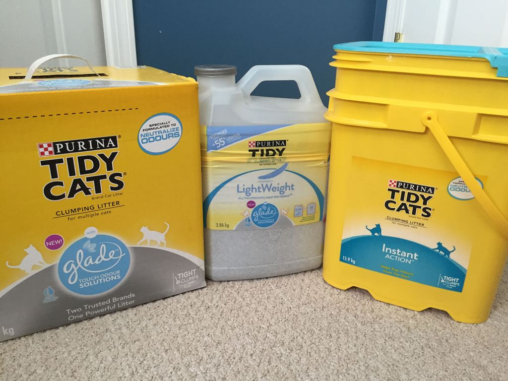 Tidy Cats Purina Litter