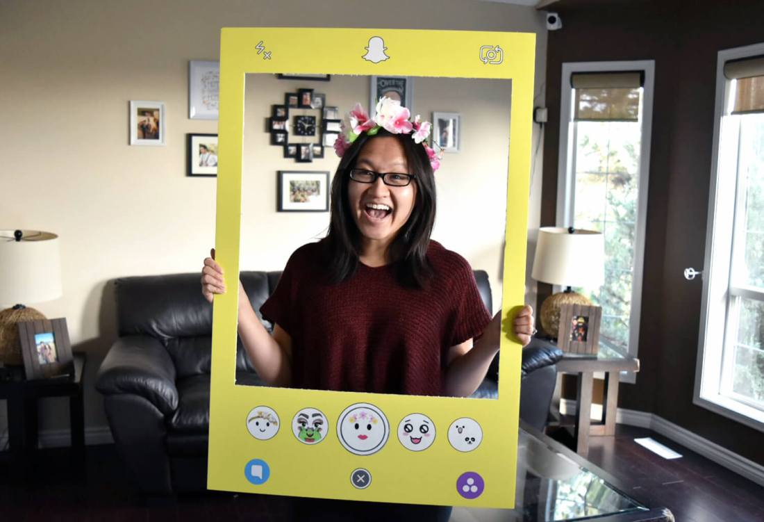 Snapchat Filter Social Media Halloween Costume