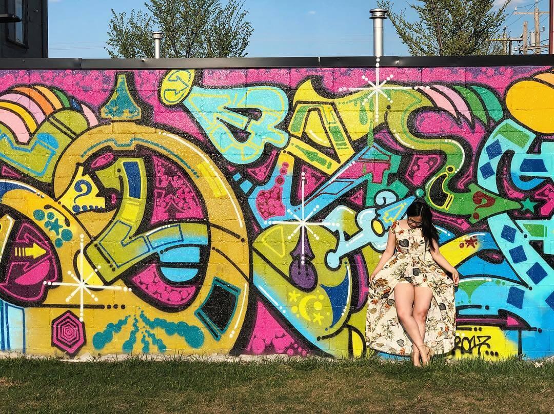 Instagrammable Wall Edmonton