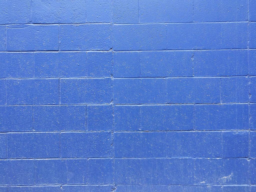 Instagrammable Wall - Blue Wall - West Edmonton