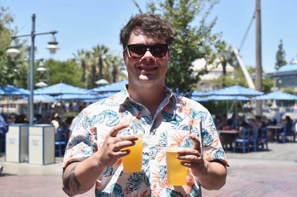 California Adventure Disney Karl Strauss Beer Truck