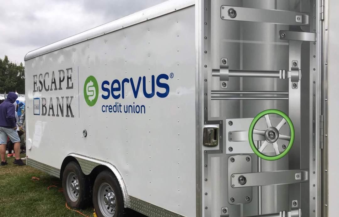 Escape the Bank Servus Credit Union Escape Room Edmonton Alberta