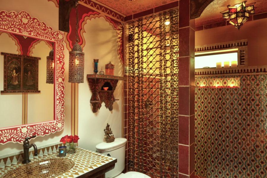 Bathe Moroccan Custom Bathroom Linda Allen Designs