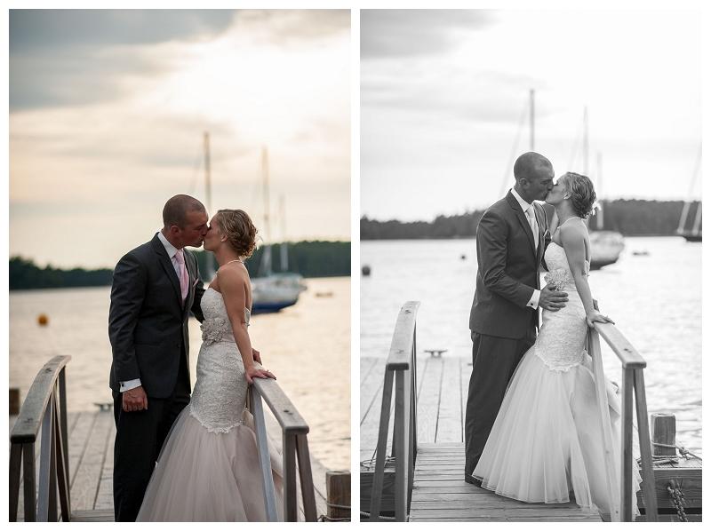 abel's boatyard, wedding photos